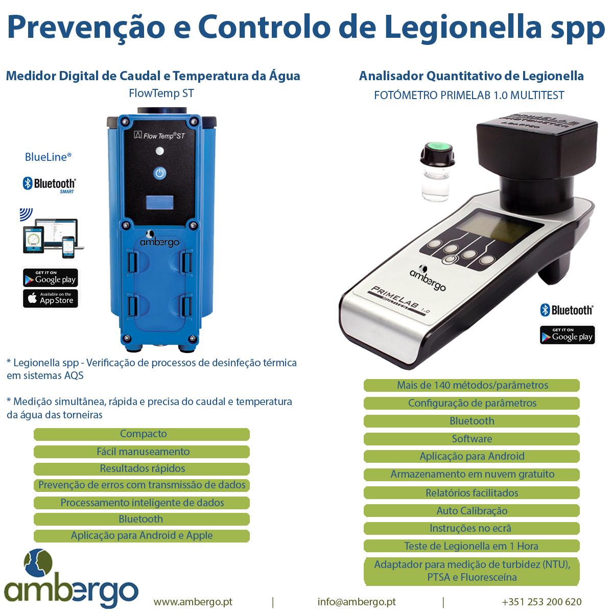 Prevenção e Controlo de Legionella spp.