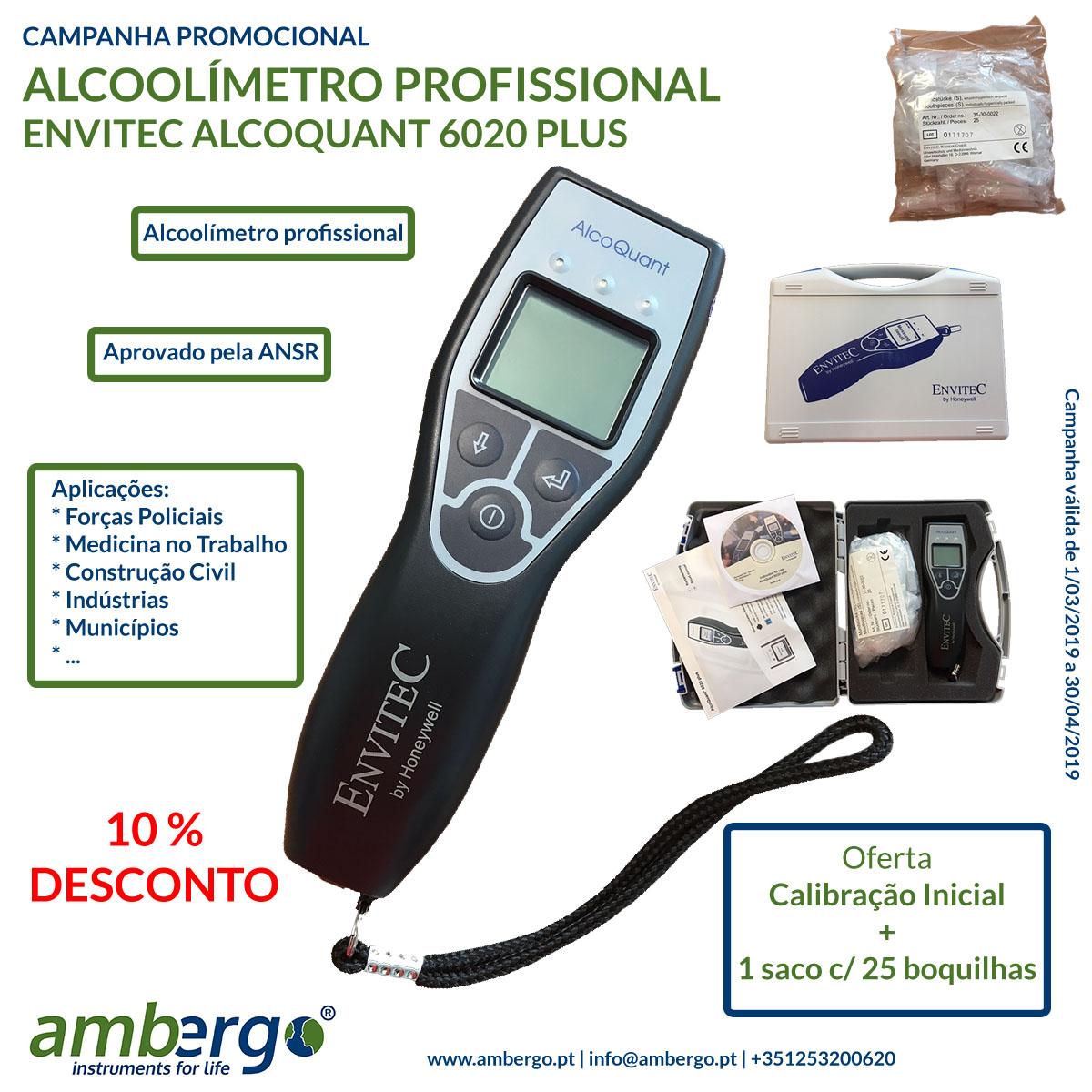 Campanha Promocional – ALCOOLÍMETRO PROFISSIONAL